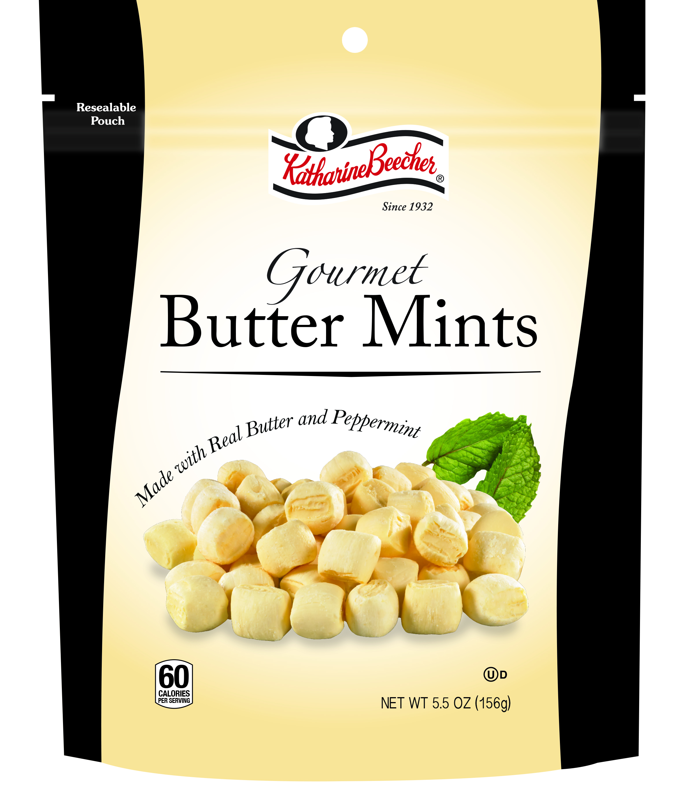 The Warrell Corporation? Announces Katharine Beecher® Gourmet Butter Mints In a Recloseable, Stand Up Bag