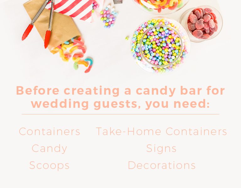 Surprising The Ultimate Diy Candy Bar For Your Wedding The Warrell Interior Design Ideas Tzicisoteloinfo